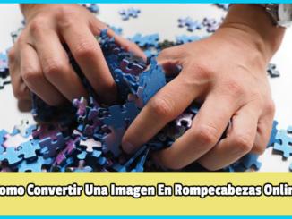 Convertir Una Imagen En Rompecabezas Online