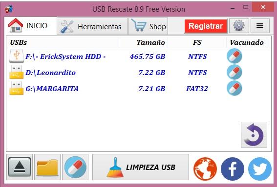 Proteger USB de Virus