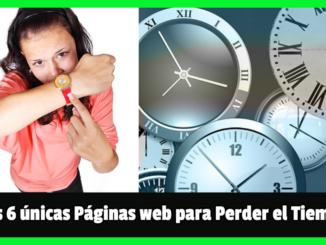 páginas web para perder el tiempo